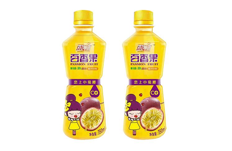 生榨百香果果汁饮料