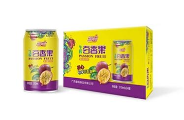 盛畅百香果果汁310ml24罐